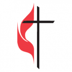 UMC cross-and-flame logo