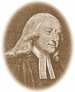 illustration of John Wesley