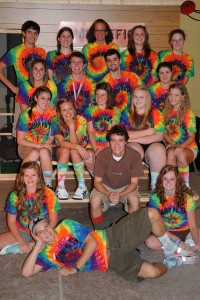 photo of Godspell cast from 2010
