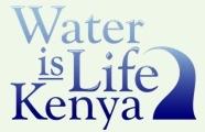 logo of Water is Life Kenya