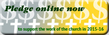 pledge online now to support the work of the church