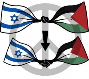 graphic for peace between Israel and Palestine