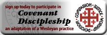 sign up today to participate in Covenant Discipleship