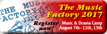 The Music Factory 2017 - Register now!