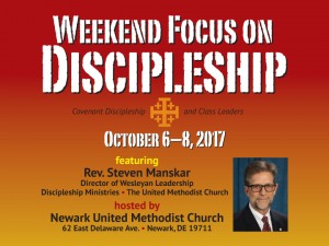 Weekend Focus on Discipleship graphic