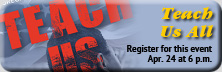 register for Teach Us All film event