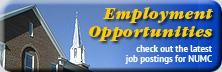 NUMC Employment Opportunities